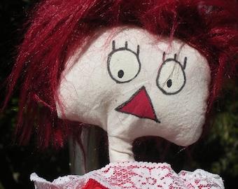 Cloth doll Anna