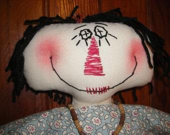 Rag doll , Anna Clair doll from heart-N-Hand, Melissa Hargrove