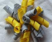 Yellow and Gray Korker