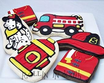 Fireman Cookies  1 Dozen