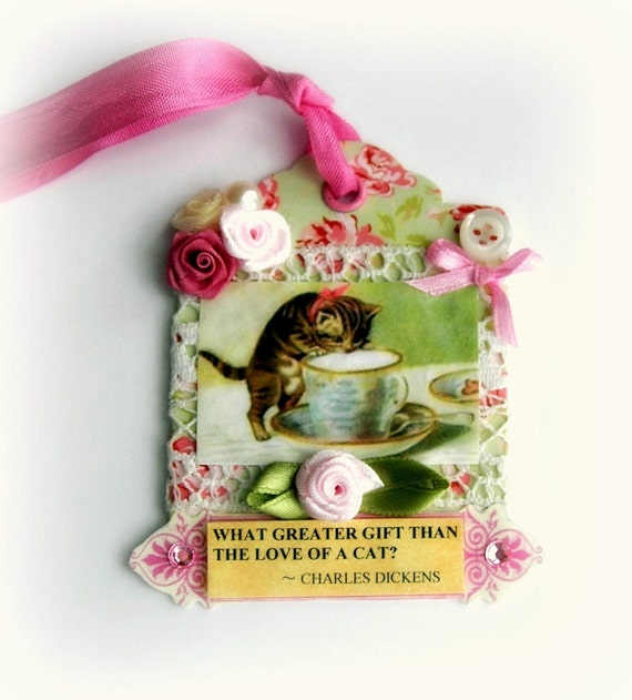 Cat Lover Gift Tag