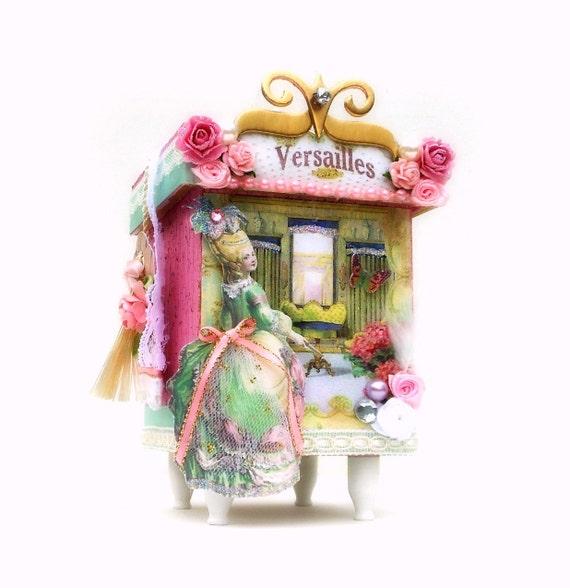Marie Antoinete Jewelry Box Keepsake Storage Box