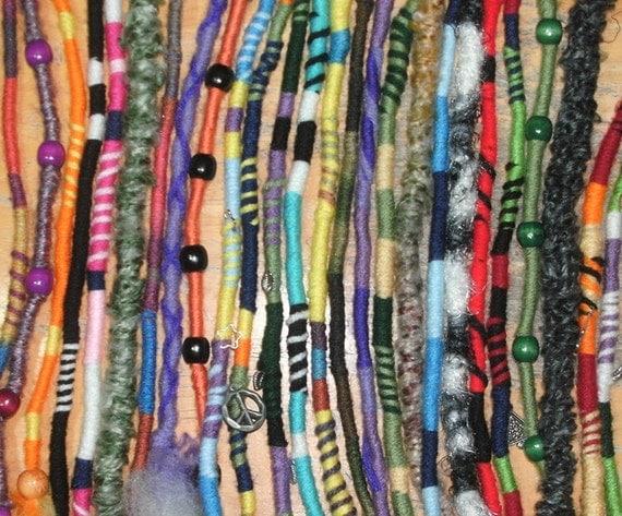 Yarn Falls Hippie Hair Wraps Braid Amp Dreadlock By