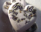 Lavender Lust Bath Bomb Minis with Real Lavender Buds Set of 3