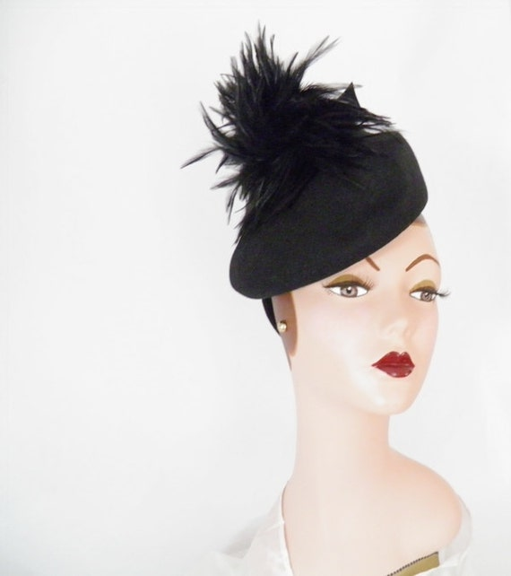 1940s forward tilt hat, 40s New York Creation