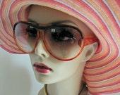 Vintage 1970's Bug Eye Sunglasses JAPAN