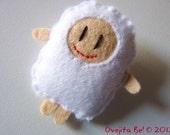Little boy in Sheep Costume Brooch