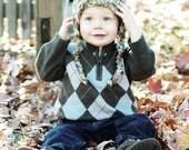 Ear Flap Hat months 5-12 years