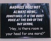 A very funny refrigerator magnet (MADNESS)