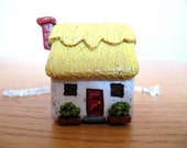 Miniature Cottage Necklace by Coryographies