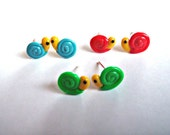 Snail Earrings - 3 Sets - by Coryographies