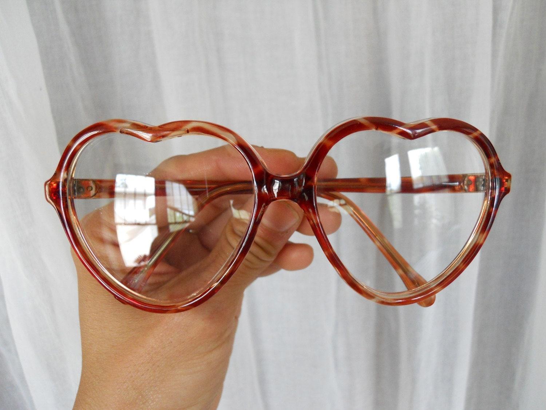 Reserved Heart Shaped Eyeglasses Non Prescription