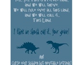Curse You & Your Sudden But Inevitable Betrayal 8x10 Firefly poster