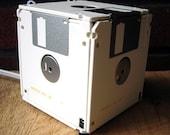 Floppy Disk Box Night Light - White