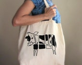 Cow tote, foodie meat lover