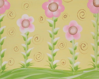 Spring Flowers 16x20 painting