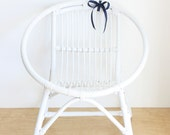 RESERVED FOR FRANCINE - Vintage Rattan Child's Chair