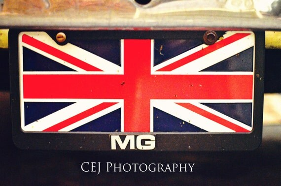 MG Union Jack Tag