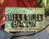 Antique Rusty Hog Bacon press