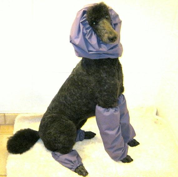 Rain Hood And Leg Protector Set Standard Poodle By