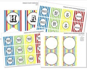 PRINTABLE Party Collection - Primary Party - Vogt Design Co.
