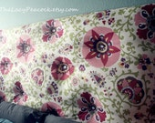 Large Tufted Fabric Headboard Made To Order