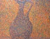 impressionist painting   claret jug