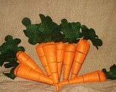 Felt Carrot