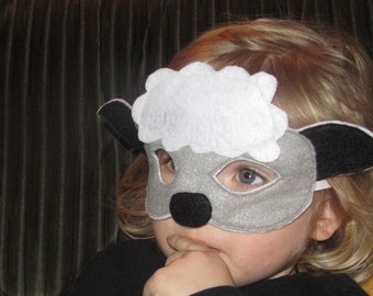 Felt Sheep Mask