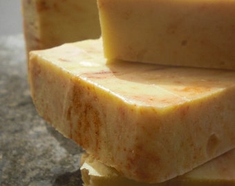 From italy with LOVE  - Citrus Shampoo bar with Organic Italian Lemons and Oranges