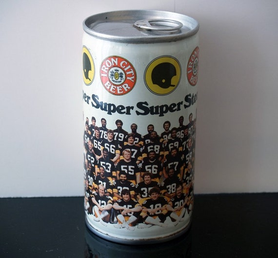 1979 Iron City Beer Can of the Pittsburgh Steelers