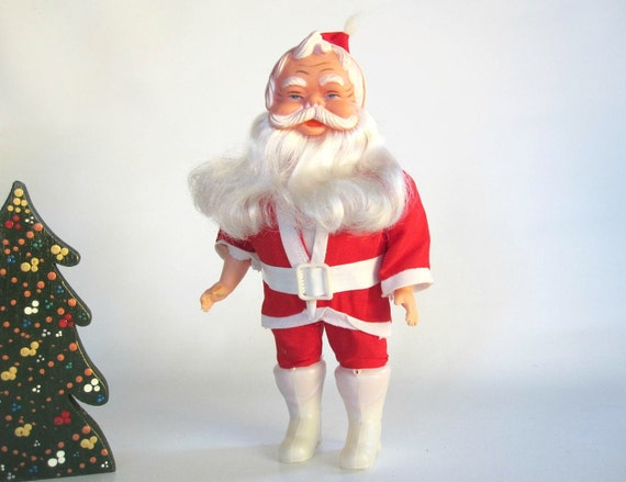Santa Clause Doll - Santa Stuffed Doll Figurine - Christmas Decoration Red and White