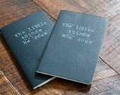 His & Hers Journals. Remembering the Small Things, Every Day.