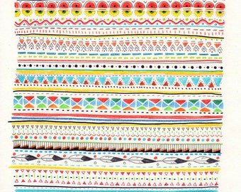 Pattern No.2 // A5 print