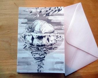 Young Treasure // Greeting Card