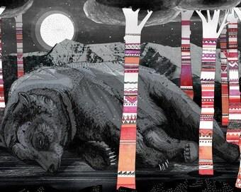 Sweet Dreams  // A5 Print 5x8