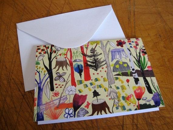 Magic Wood // Greeting Card