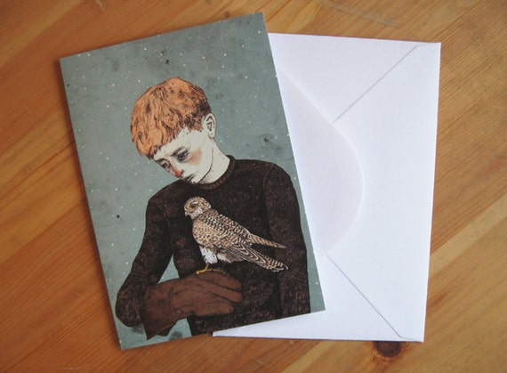 Kes // Greeting Card