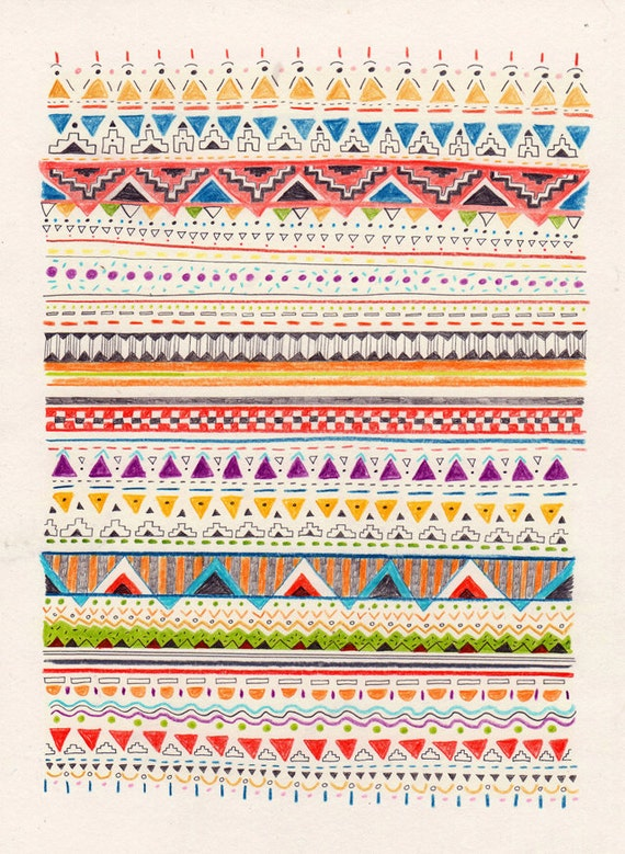 Pattern // A4 print