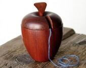 Vintage Wooden Apple Organizer