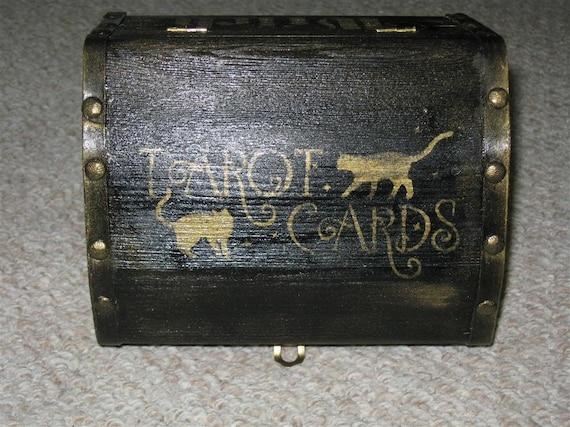 witchy treasure tarot card charging box pagan wiccan samhain halloween