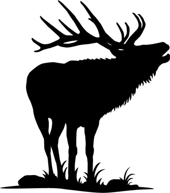 Items Similar To Elk Decal On Etsy