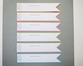CUSTOM LISTING for ashliemartin1 - 90 Yellow Pennant Envelope Wraps