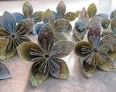 Dozen Atlas Origami Flowers