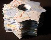 Set of 10 Atlas Origami Rings