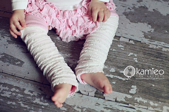Baby Leg Warmers, Bamboo lined, Newborn to 18 Months. The Cuddle Loom