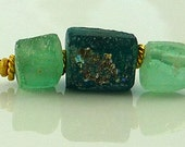 Ancient afghani glass beads 1000-2000 years old