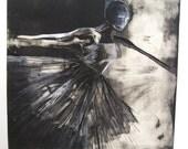 Ballerina monoprint, (4 of 4)