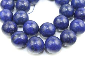Round Lapis Beads Gemstsone Strand 16mm