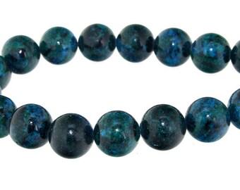 Green Jasper 14mm 16beads Gemstone Beads Strand